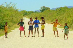 Отдых с детьми в Намибии