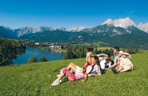 Отдых с детьми в Австрии